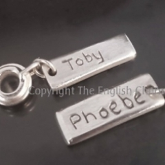 Name Tags Silver Pandora