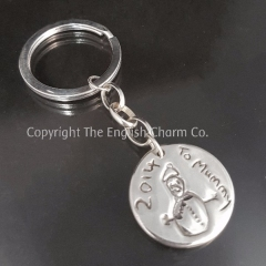 Drawing Keepsake Keyring